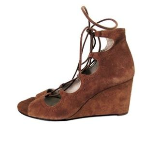 Zara Brown Suede Feel Booties Size Eur 40
